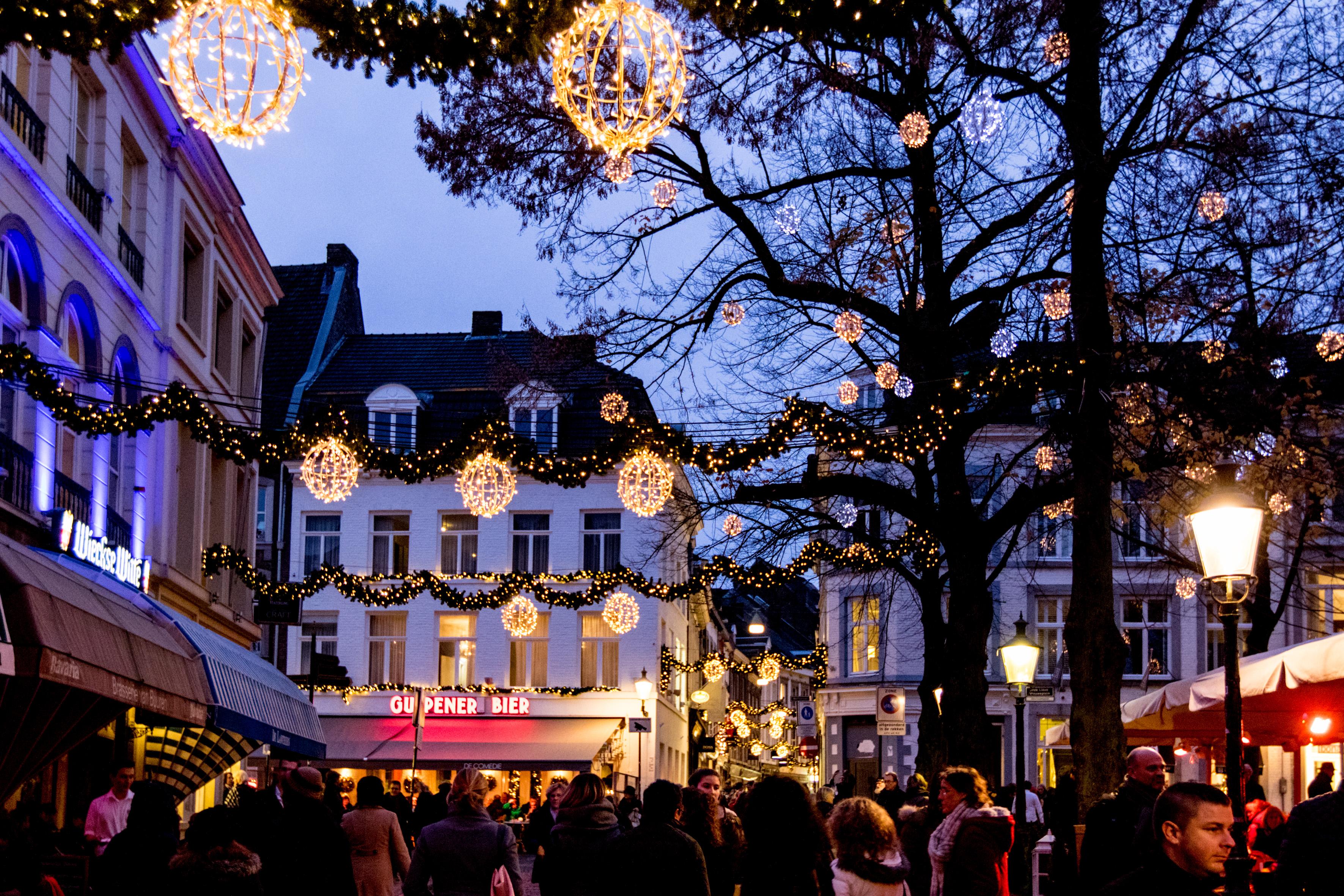Vestiging Avontuur Limburg leverancier Sfeerverlichting tijdens Magisch Maastricht