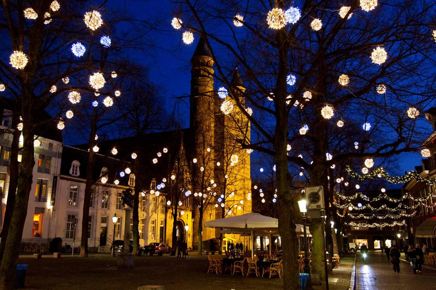 Richtlijnen kerstversieringen door de Gemeente Maastricht